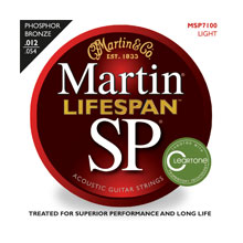 Martin SP Lifespan Acoustic Strings MSP7100