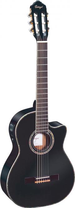 Ortega RCE 141 BK Konzertgitarre