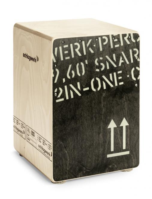 Schlagwerk CP 403 2inOne Snare Cajon - Medium Black Edition