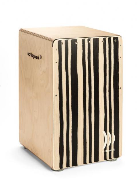 Schlagwerk CP 560 ST Cajon Agile pro Soft Touch Zebra